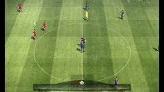Pro Evolution Soccer 2010 Gameplay PS3