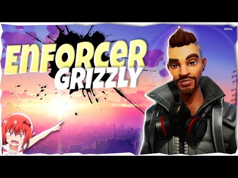 Enforcer Grizzly Better Then Fragment Flurry Jess??!!| Hero Overview |Fortnite Save The World