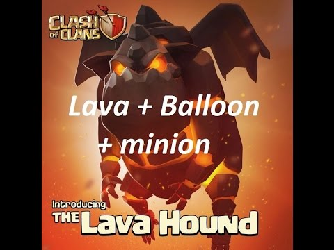 How to LavaLoonion at TH9 in Clash of Clans