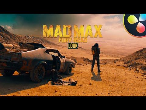 How To Color Grade Like Mad Max | DaVinci Resolve 16 Tutorial