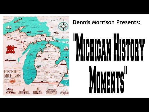 MICHIGAN HISTORY MOMENTS: DID GIANTS WALK MICHIGAN'S ANCIENT SHORES?????
