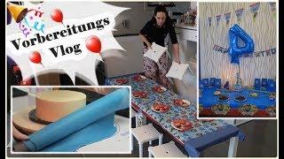 Vorbereitungs Vlog/Kindergeburtstag/Rezepte/Sturmfrei/Paw Patrol Party/Mel´s Kanal