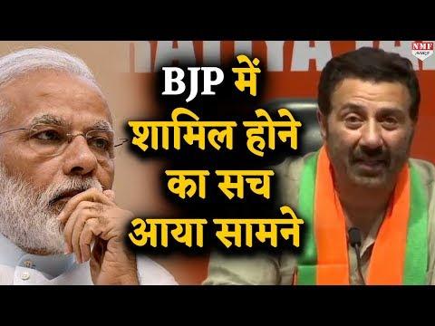 Sunny Deol ने इस वजह से Join की BJP, सच जानकर Modi भी होंगे हैरान