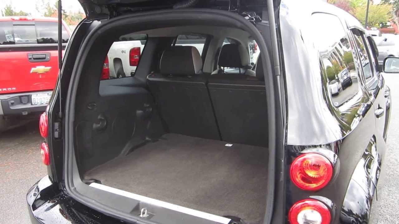 2009 Chevrolet Hhr Black Stock C14005513 Interior Youtube