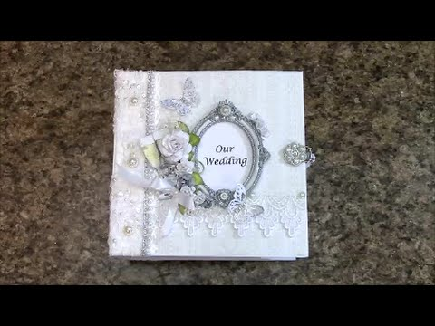 PART 1 TUTORIAL 8 x 8 WEDDING ALBUM  - DESIGNS BY SHELLIE