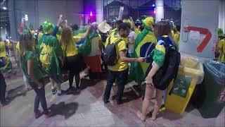 Músicas da torcida brasileira na Copa da Rússia 2018