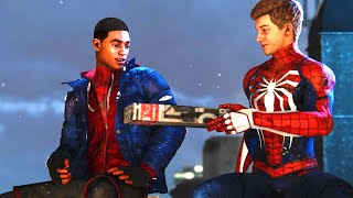 Spider-Man Miles Morales - Peter Gives Miles His New Suit