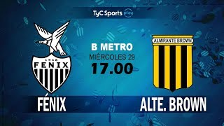 CA Fenix vs Almirante Brown full match