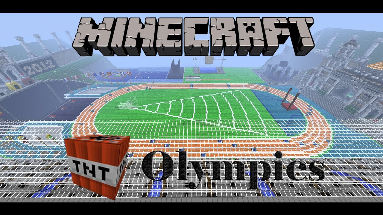 Minecraft tnt olympics: design competition results, and competitor.