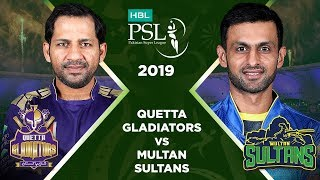 Match 8: Full Match Highlights Quetta Gladiators vs Multan Sultans | HBL PSL 4 | HBL PSL 2019