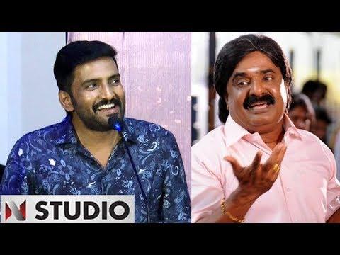 Santhanam imitates VTV Ganesh and making fun on Actor Arya | Sakka Podu Podu Raja Trailer Launch
