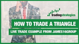 How to Trade Forex Video from James16Group | Autochartist Triangle breakout