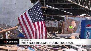 Verheerende Schäden durch Hurrikan