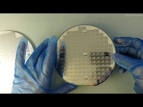 Unboxing Some Vintage Silicon Wafers