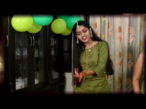 mehandi-ceremony-dance-performance-(full-medley)-by-groom's-sister-||-part---2nd-||