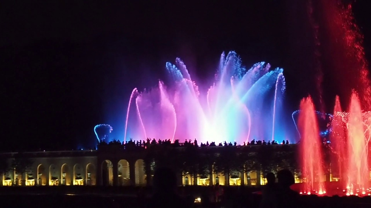 Longwood Gardens Fountain Show Saturday July 21 2017 Youtube