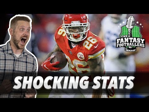 Fantasy Football 2019 - Top 10 Shocking Stats from 2018 + Trade Targets - Ep. #690
