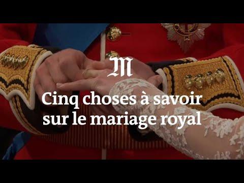 Mariage de Harry et Meghan Markle : cinq choses à savoir sur la cérémonie