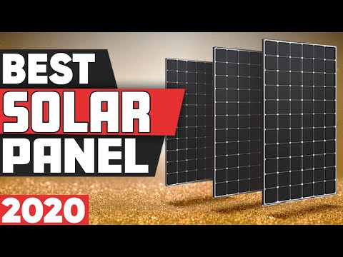 5 Best Solar Panels in 2020