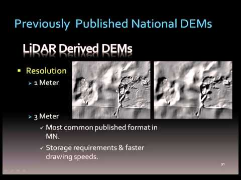 Hydrologic Applications of LiDAR Data, Lecture 1