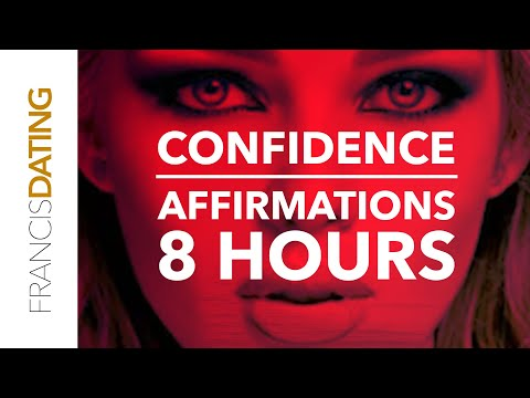 Confidence Affirmations   Ultra Confidence   Subliminal Affirmations For Sleep