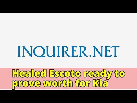 Healed Escoto ready to prove worth for Kia