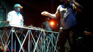 "Hip hop artist Mims at the ""Blue Frog"" in Mumbai."