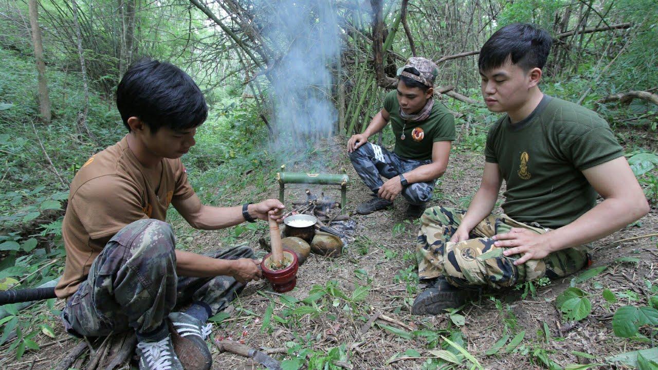 ดำรงชีวิตในป่า ทำอาหาร