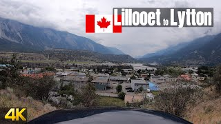 Driving from Lillooet to Lytton | British Columbia, Canada