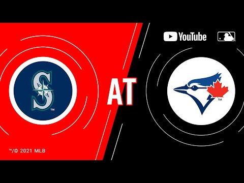Mariners at Blue Jays | MLB Game of the Week Live on YouTube