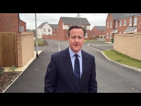 David Cameron: Help to Buy is helping families achieve their dreams