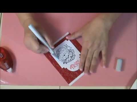 How To Make Embossed Christmas Cards YouTube