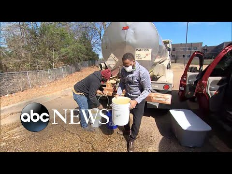 Millions still without running water in Texas and Mississippi