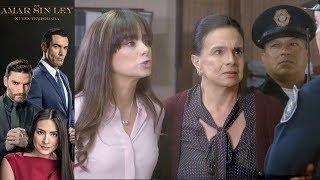 Por Amar Sin Ley 2 - Capítulo 25: Violeta y Aurora son acusadas de robo - Televisa
