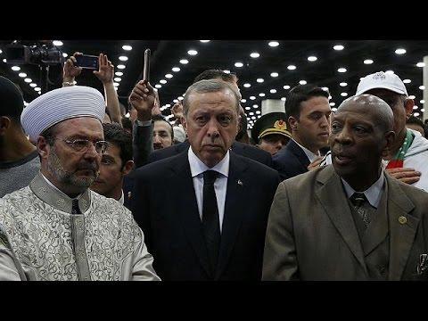 Эрдоган покинул Луисвилль, оскорбленный отношением организаторов похорон Мохаммеда Али