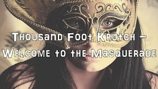 Thousand Foot Krutch - Welcome to the Masquerade [Acoustic Cover.Lyrics.Karaoke]