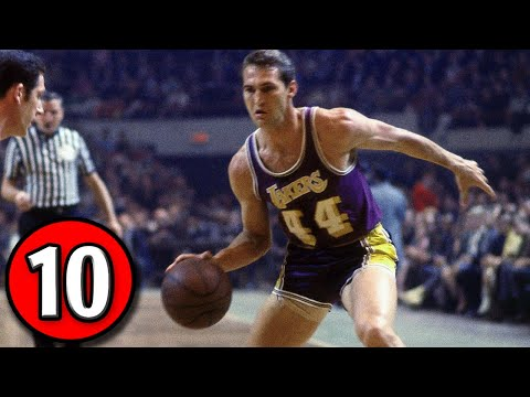 Jerry West Top 10 Plays of Career