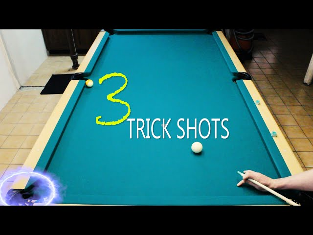 3 Pool Trick Shots: Volume 4