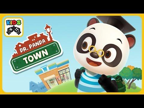 Dr. Panda Город - игра для детей от Dr. Panda - Доктор Панда на русском - iOS | Android HD геймплей