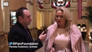 Pamela Anderson on Julian Assange, Wikileaks and the presidential election results