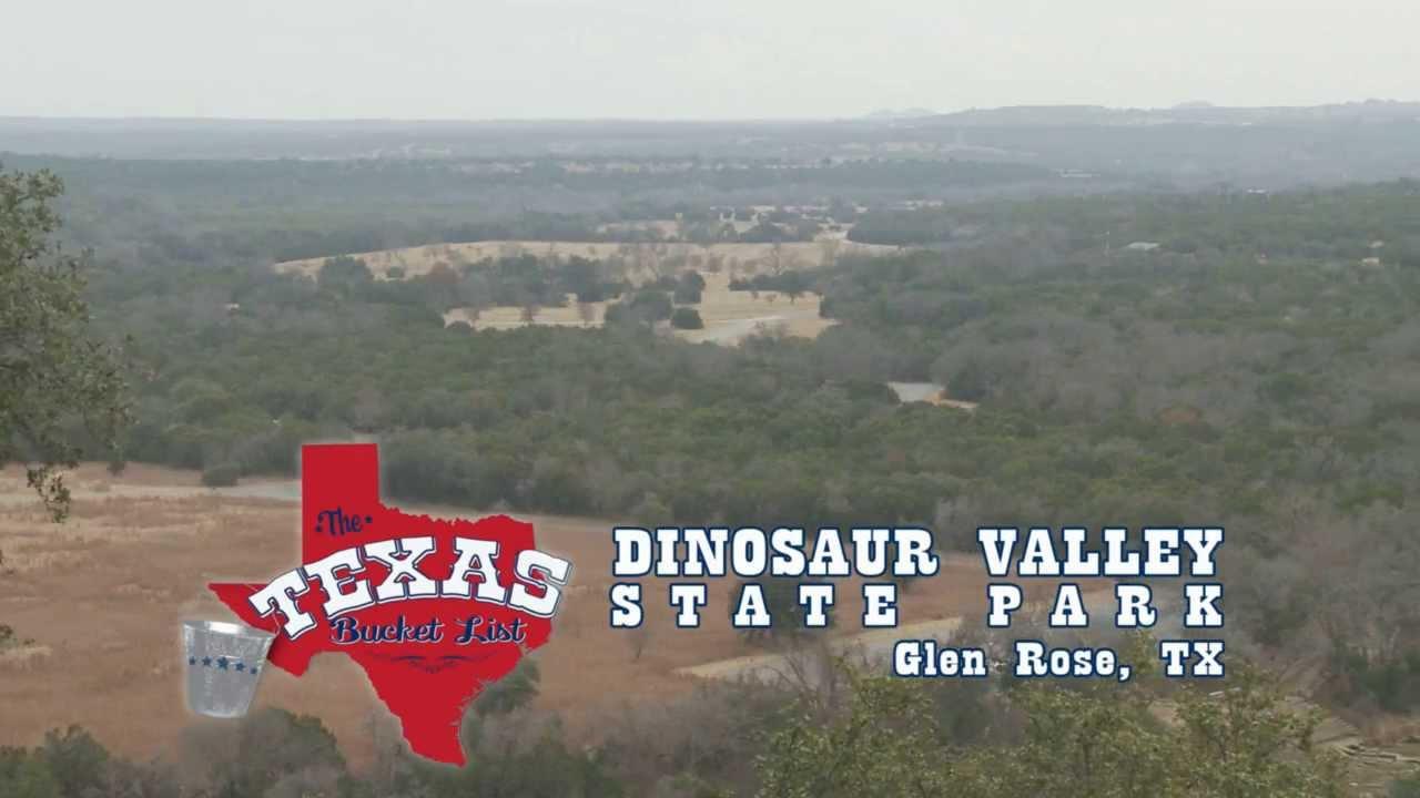 The Texas Bucket List - Dinosaur Valley State Park - YouTube