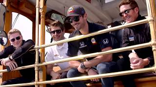 2018 Championship Contenders Take a Cable Car Tour around San Francisco