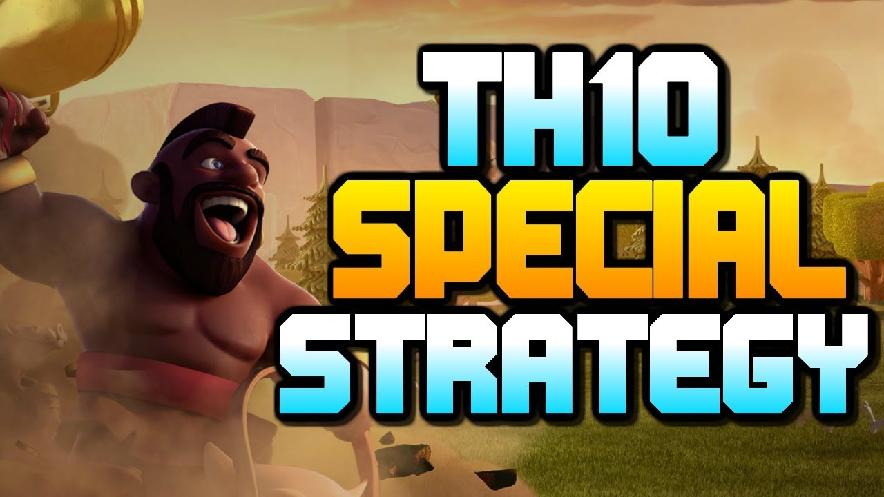 SPECIAL TH10 ATTACK STRATEGY | Town Hall 10 Hog Riders | Clash of Clans