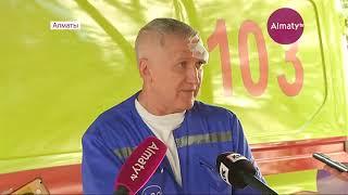 Гражданин Турции избил водителя скорой помощи в Алматы (18.09.18)