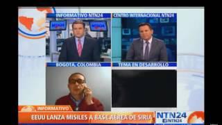 EEUU LANZA 50  MISILES A BASE AEREA DE SIRIA 2017