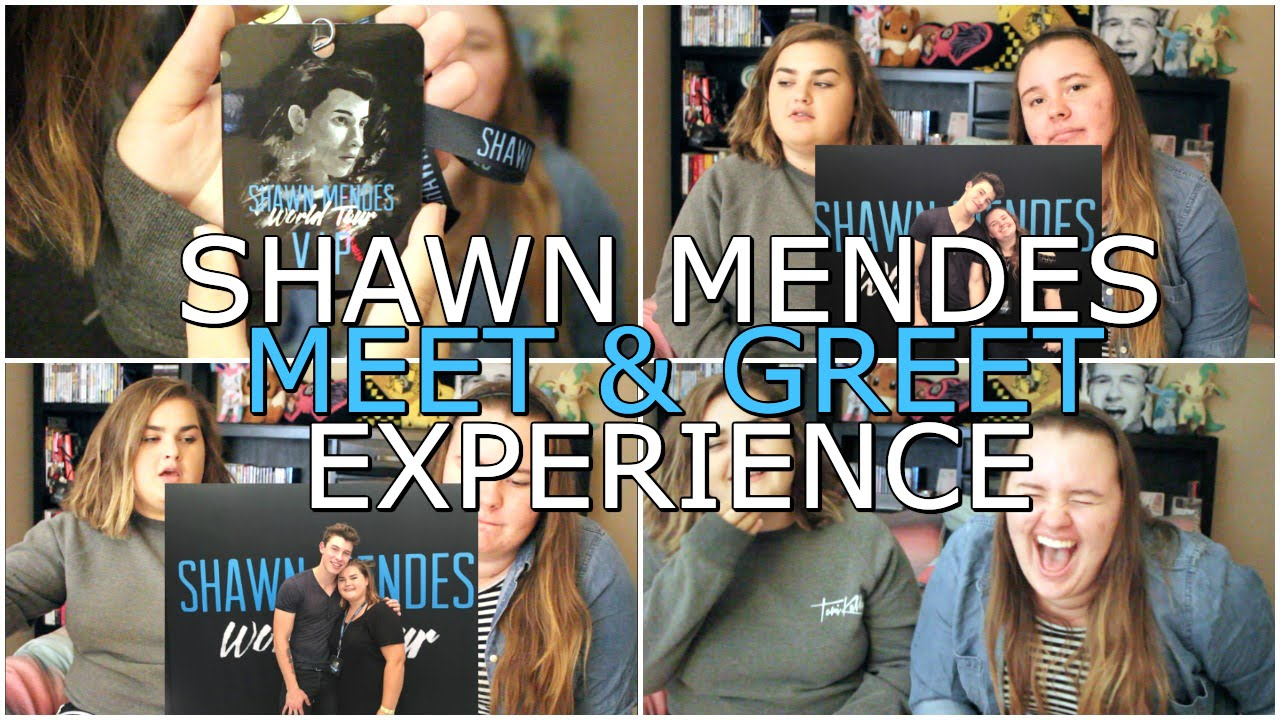 Shawn Mendes Meet Greet Experience Youtube