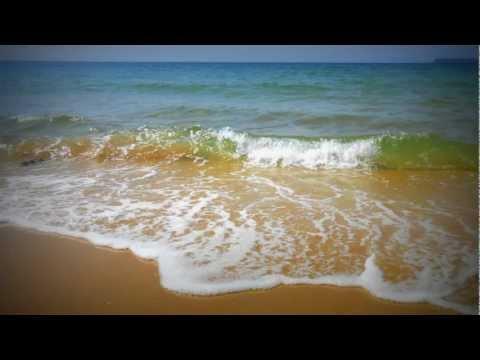 波の音 1/f ゆらぎ 熟睡導入用/ The sound of waves in the end of summer