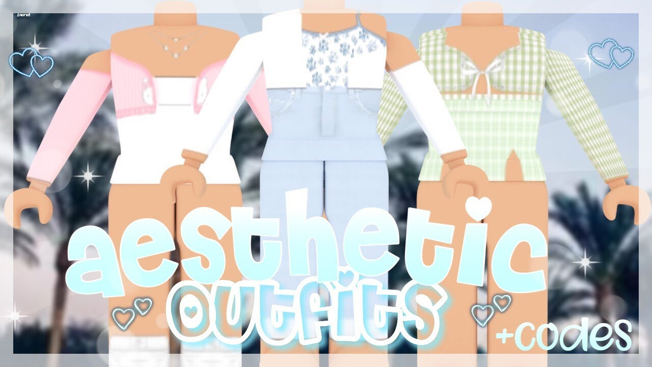 15 Aesthetic Roblox Girl Outfits Codes How To Use Codes Elxto Youtube Bloxburg | 100 aesthetic decal codes. 15 aesthetic roblox girl outfits codes how to use codes elxto