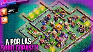 A POR LAS 5000 COPAS en la ALDEA NOCTURNA!! | Clash of Clans | Rubinho vlc