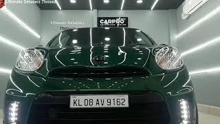 Nissan Micra Ceramic Coating - Ultimate Detailerz Thrissur, Kerala, India